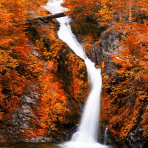 Sullivan Falls in the Three Pools natural area of Oregon