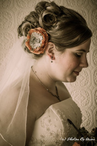 Artistically desaturated bride by Photos By Orion