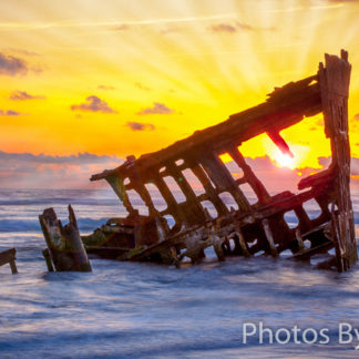 Shipwreck Sunset