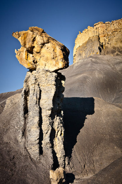 Hoodoo at Moon Butte