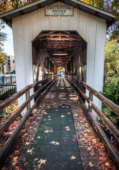 Inside Centennial Bridge