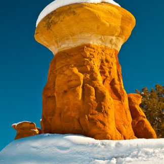 Hoodoo in winter