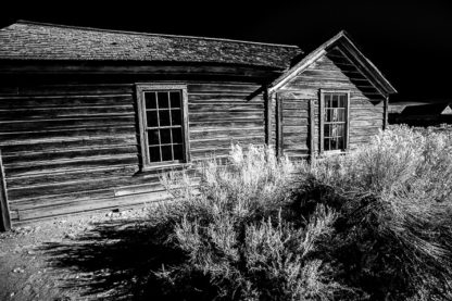 Homestead and Sage Brush